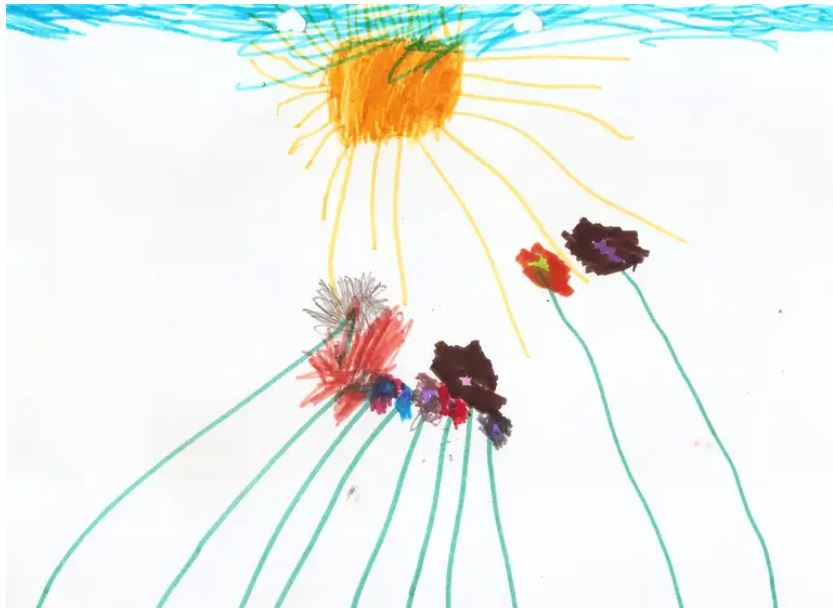 Childs_flowers_and_sun