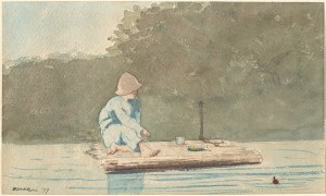1920px-Winslow_Homer_-_Boy_on_a_Raft_(1879)