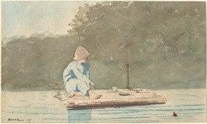 1920px-Winslow_Homer_-_Boy_on_a_Raft_(1879)