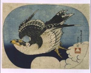 Katsushika Hokusai, Hawk, 1849 (large)
